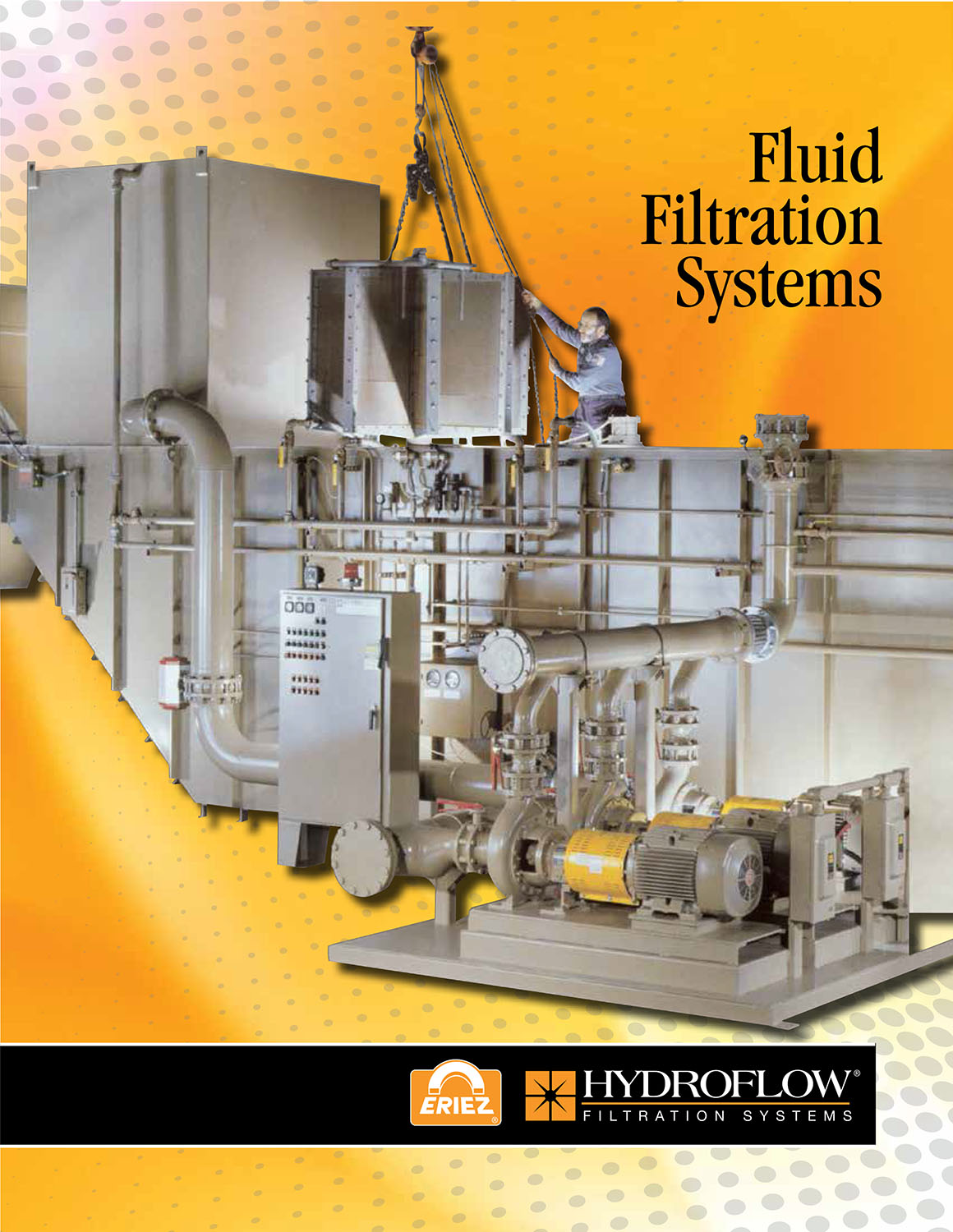 Eriez Offers New Hydroflow Fluid Filtration Systems