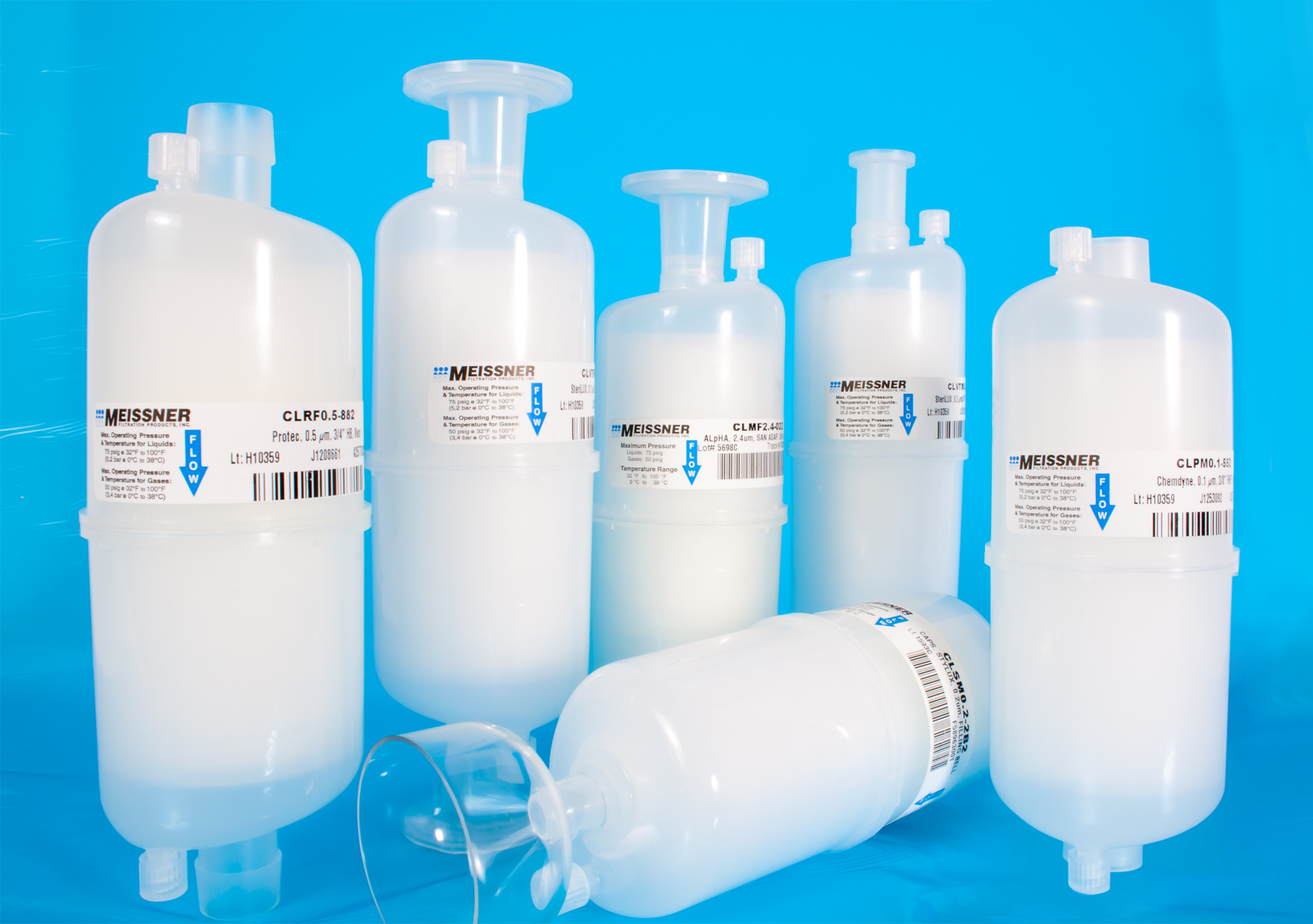 Single Use Cs Cl Capsule Filters Offer A Variety Of Sizes