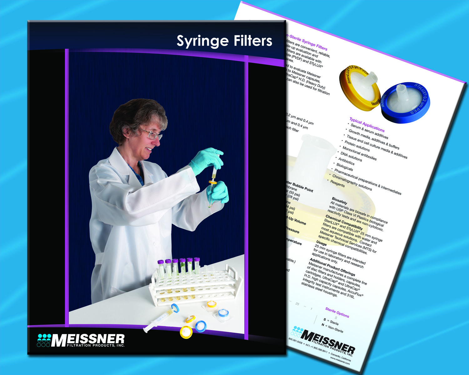 25 Mm Syringe Filters Brochure Now Available From Meissner