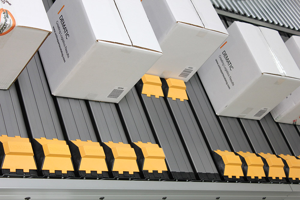 Dematic Introduces Next Generation Package Sorter System
