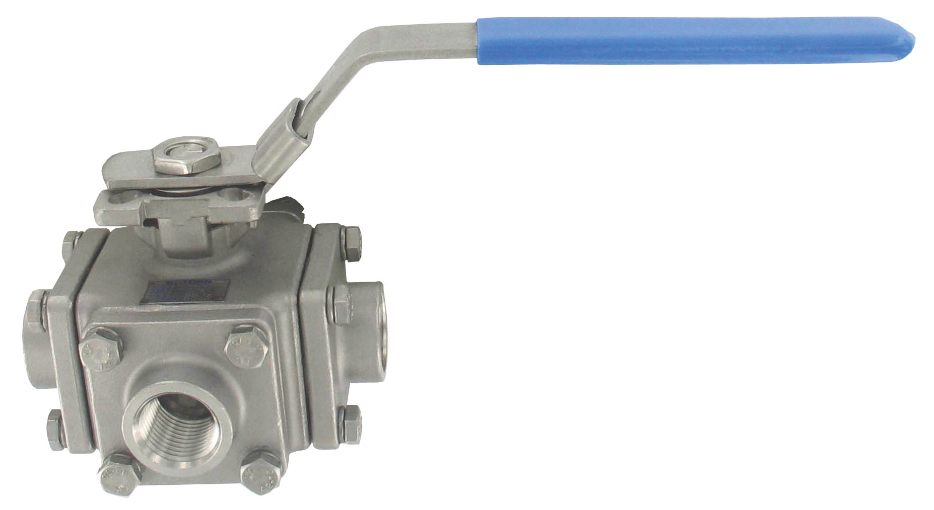 Banjo Electric 3 Way Directional Ball Valve: Series 3BV3H 3-Way Stainless Steel Ball Valve (Dwyer