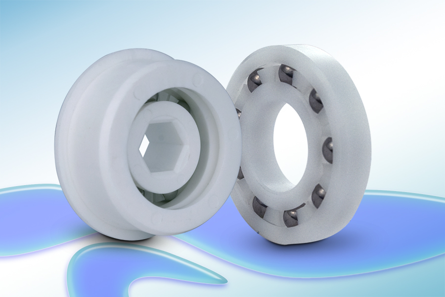 New Plastic Ball Bearings from QBC Feature Glass or 316 ...