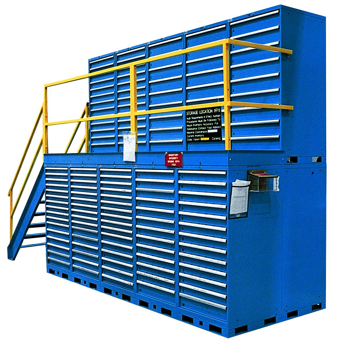 Lista Introduces Mini Mezzanine Advanced Storage Systems