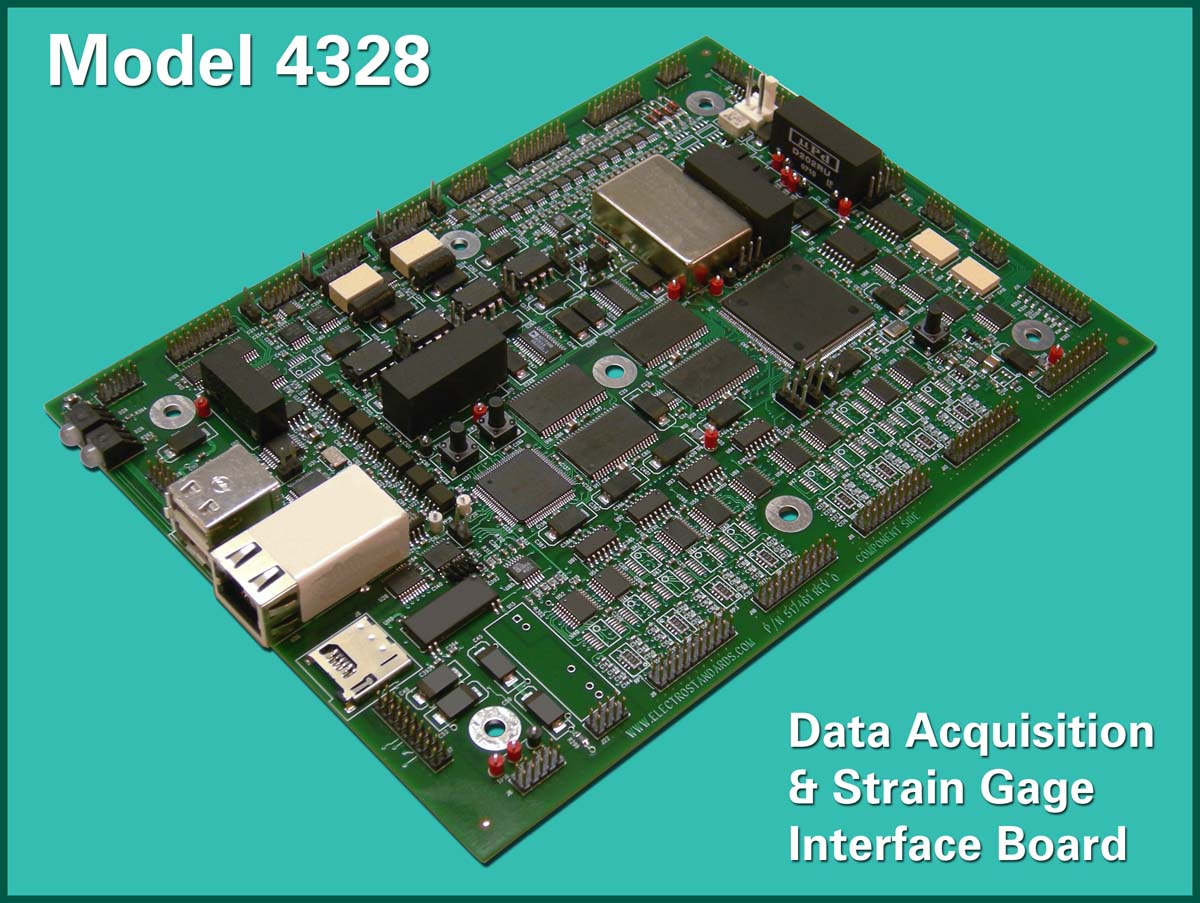 Data Acquisition Board : New ruggedized data acquisition strain gage board
