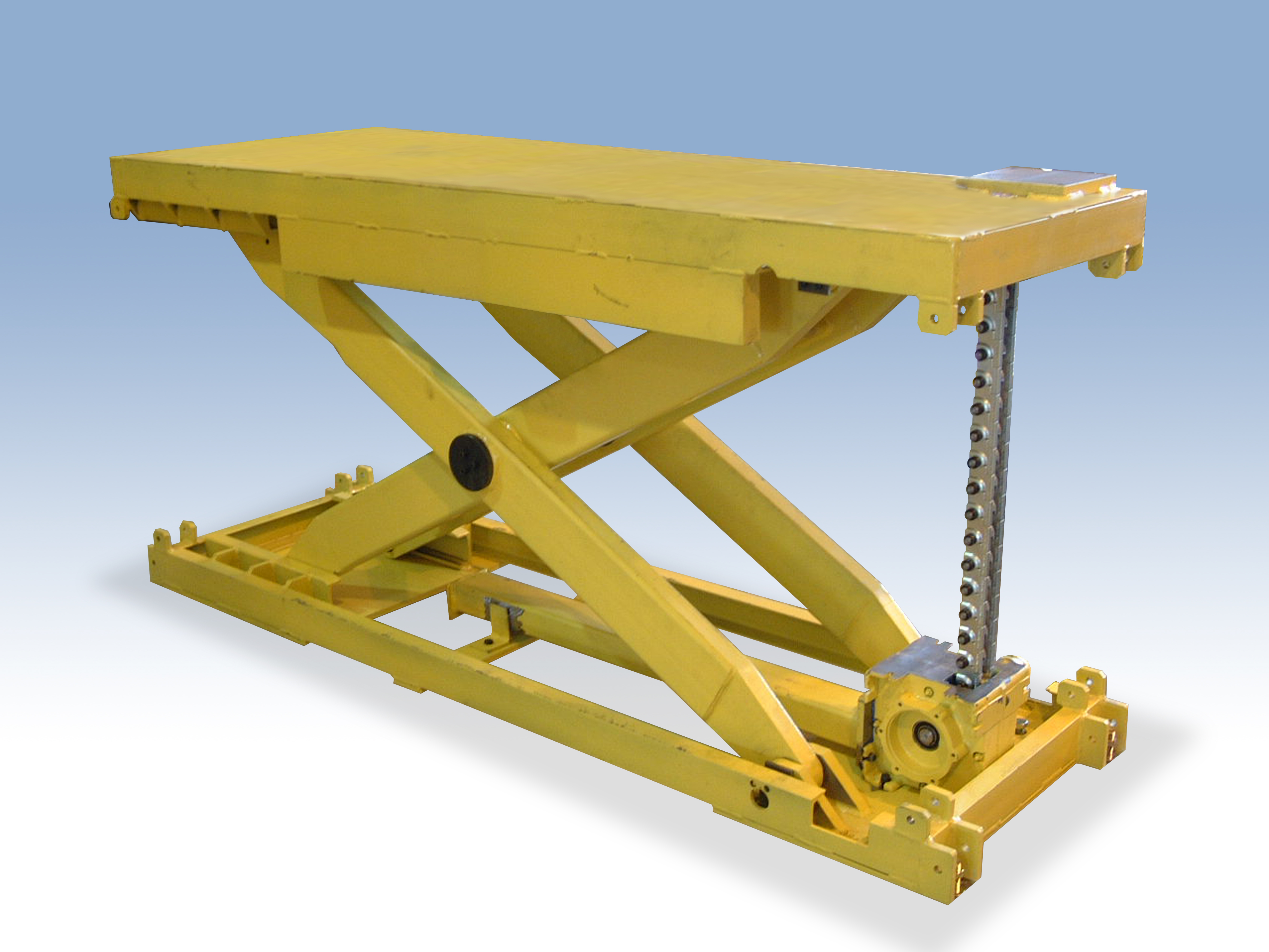 tables lift material equipment ergonomic handling hydraulic electric table scissor product