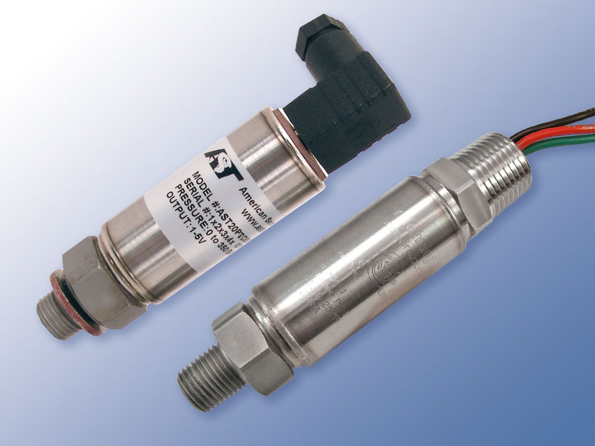 Combo Pressure Temperature Sensors Offer Both Outputs At