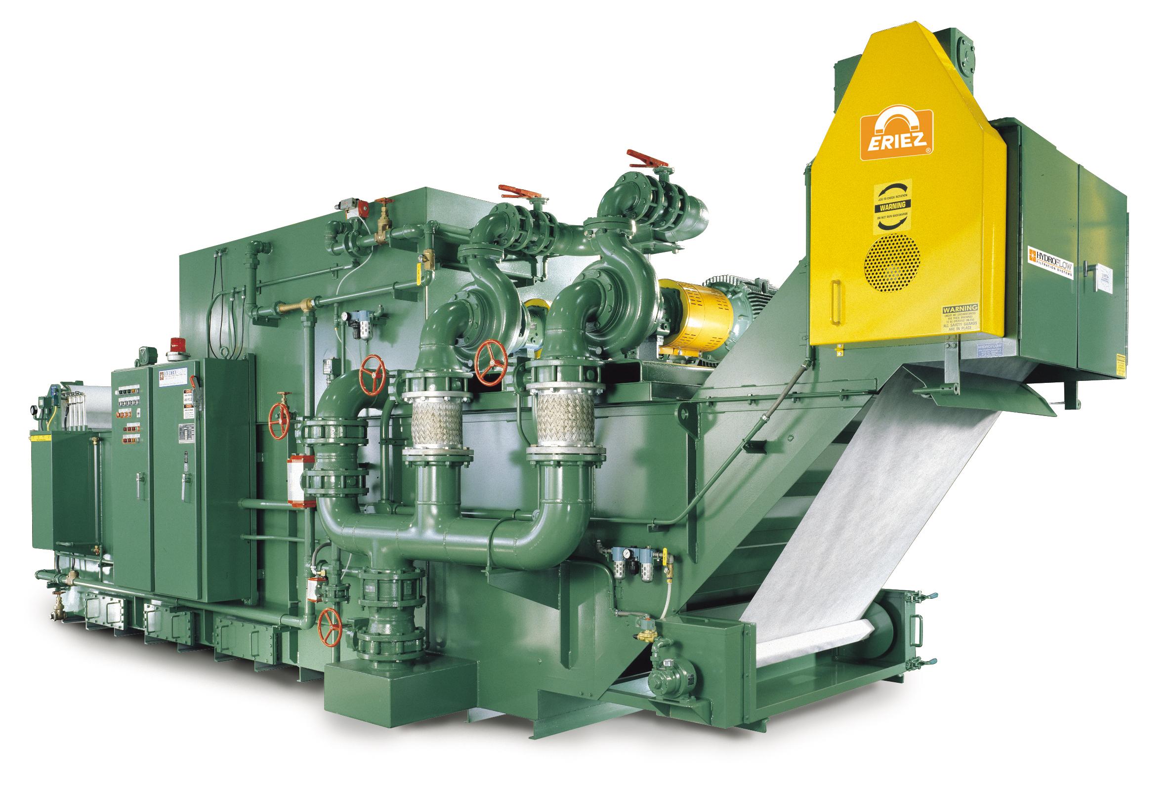 Eriez 174 Hydroflow 174 Vacuum Filtration Systems Provide